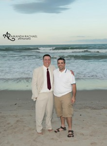 Cocoa beach wedding 2014